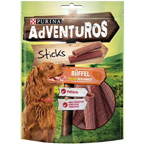 Adventuros Hundesnack Sticks, (6 x 120 g)