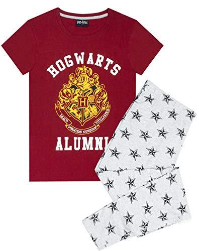 HARRY POTTER Pigiama Donna Hogwarts Alumni Ladies Top & Bottoms Pjs X-Large