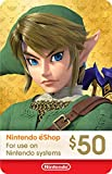$50 Nintendo eShop Gift Card [Digital Code] (Software Download)