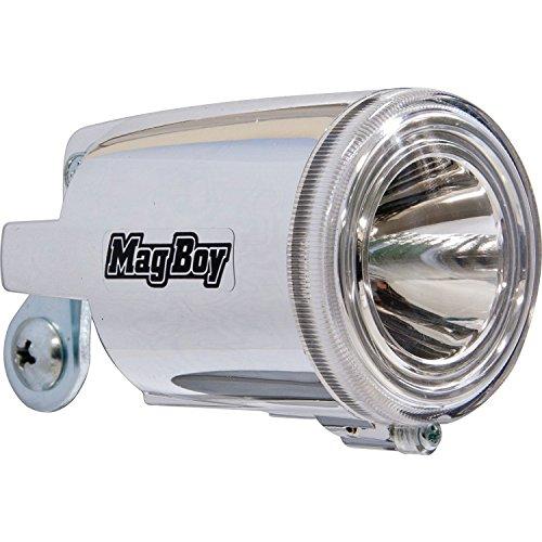 丸善(MARUZEN) Mag Boy [MLI-1AL] ハブダイナモ装着車用LEDヘッドライト (2線式)