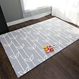 Baby Care Play Mat - Haute Collection (Large, Sea Petals - Grey)