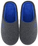 Mishansha Chaussons Femme Homme Pantoufles Hiver Automne Chaud Chaussures pour...