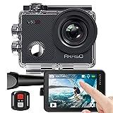 Caméra Sport 4K Etanche WiFi – AKASO Action Caméra Sportive Ultra Full HD Stabilisateur avec...