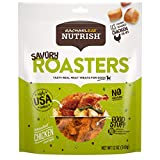 Rachael Ray Nutrish Savory Roasters Real Meat Dog Treats, Roasted Chicken Recipe, 12 Ounces, Grain Free