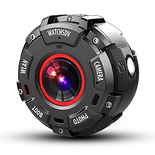 Cribbn WearCAM IP68 impermeabile WIFI 1080P 720P 2K Sport Camera Supporto 32GB Scheda di memoria Bluetooth 4.0
