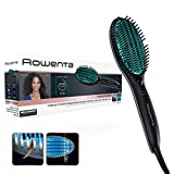 Rowenta Cepillo alisador Power Straight CF5820 - Cepillo especial para cabello muy rizado, con...