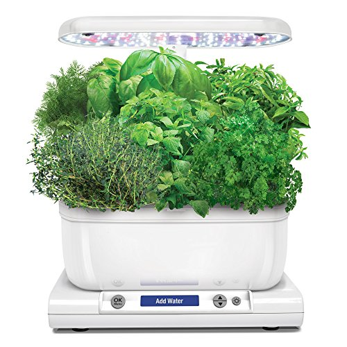 AeroGarden 901071-1200 Classic 6 Garden, Base Model, White