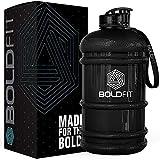 Boldfit Gym Gallon Water Jug Bottle (2.2 Litre, Extra Large) (Gloss Black)