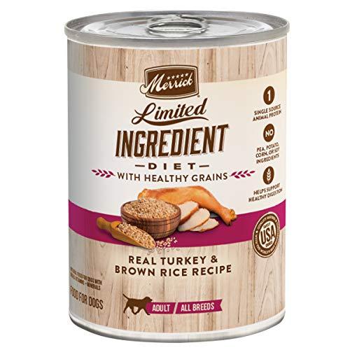 Merrick Limited Ingredient Diet Healthy Grains Wet...
