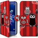 KARYLAX Etui Portefeuille Universel M [IMP-CO05] pour Smartphone Hisense F17 Pro