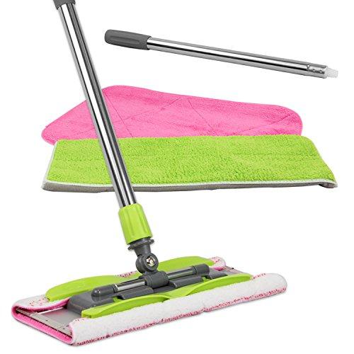 LINKYO Microfiber Hardwood Floor Mop...