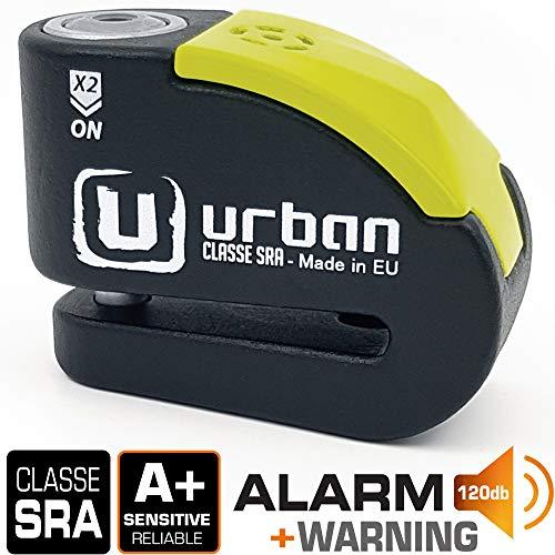 Urban Sicherheit UR10 Motorrad/Bike Alarm DISC LOCK 10 mm/120 dB Alarm/Wasser beständig