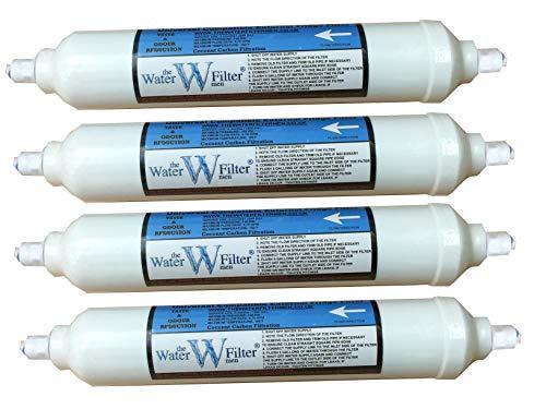 Le filtre à eau MEN 4XFF (PF) Filtre compatible Samsung & LG, paquet de 4