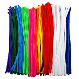 Edukit Jumbo Pack of 360 Pipe Cleaners - 10 Assorted Colours - Includes 60...