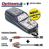 Tecmate OptiMate 4 Chargeur de batterie avec système CAN Bus pour BMW Entretien...