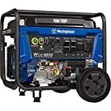 Westinghouse Outdoor Power Equipment WGen9500 Heavy Duty Portable Generator 9500 Rated 12500 Peak Watts, Gas Powered, Electric Start, Transfer Switch & RV Ready, CARB Compliant