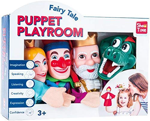 AB Gee Large 4 Hand Puppets - Punch & Judy