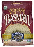 Contains 1 - 4 Pound Bag of Lundberg Family Farms California White Basmati Rice Great addition to stir-fry, salads, stuffing, pilaf, and even desserts USDA Organic Gluten Free, Vegan, Kosher, Non GMO Project Verified Family-owned and operated since 1...