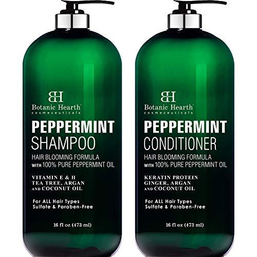 BOTANIC HEARTH Peppermint Oil Shampoo and...