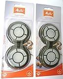 Melitta Permanent Pad Filtre x 2 Paquets