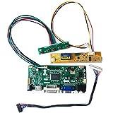 HDMI+DVI+VGA Input LCD Controller Board Kit for LP154WX4-TLD2 15.4' 1280X800 Driver Board