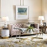 Safavieh Evoke Collection EVK236P Vintage Floral Grey and Gold Area Rug (4' x 6')