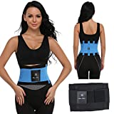 KIWI RATA 5 Colors Neoprene Thermo Body Shaper Waist Trainer Corset Fitness Tummy Control Trimmer Shapewear