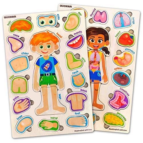 Toddler Puzzles for Kids Ages 2-4-8 by Quokka – 2...
