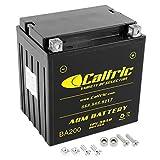 Caltric compatible with Agm Battery Polaris Ranger Xp 700 4X4 2006 2007 / Ranger Xp 800...