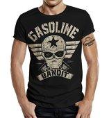 GASOLINE BANDIT Biker Camiseta Original Diseno Big-Size Print: Bandit Wing M