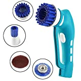 Electric Scrubber,PowerDoF Mini Handle Electric Washing Machine for Kitchen Bathroom with Rechargeable Battery Power Scrubber (size-o2)