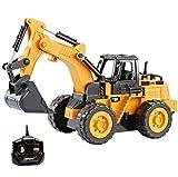 Top Race télécommande Petits camions d'excavation de Construction,...