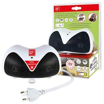 Répulsif Rongeurs Ultrasonique 30 m²: chasse les souris, rats et autres rongeurs par ultrasons, pour l'intérieur. x1