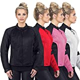 Motorcycle Jackets for Women Viking Cycle Warlock Women's Mesh Motorcycle Jacket (X-Large)