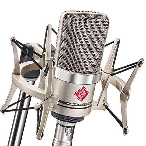 NEUMANN/TLM 102 studio set ラージダイアフラムマイク(カーディオイド、ニッケル色)EA4
