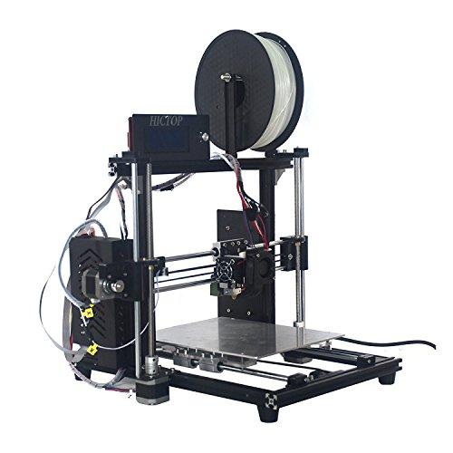 【新型】HICTOP フィラメントモニターとオートレベル機能付き3DプリンターキットDIY アルミニウム 未組立 ...