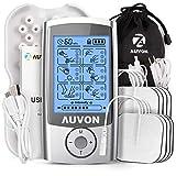 AUVON Rechargeable TENS Unit Muscle Stimulator, 3rd Gen 16 Modes TENS...