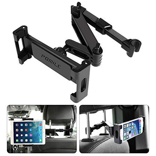 POMILE Supporto Tablet Poggiatesta Auto Regolabili Dimensioni Diverse, Universale Supporto per...