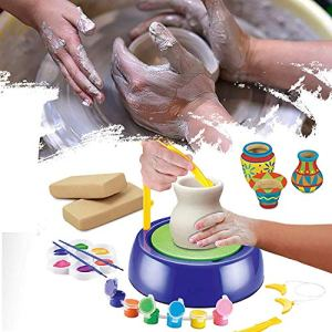 Pottery Wheel Clay Pot Making Game for Kids in India 2021 | Pot making with clay for kids
