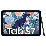 Samsung Galaxy Tab S7, tablet Android con penna, 4G, WiFi, 3 fotocamere, grande batteria da 8.000 mAh, display LTPS da 11,0 pollici, 128 GB/6 GB di RAM, tablet in blu
