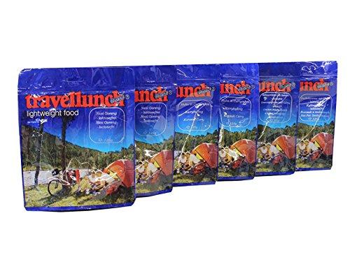 6 x 125 g Travellunch de comidas con pollo, comida seca