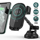 Quntis Qi Chargeur Voiture sans Fil 10W Induction + Câble USB C 0,8M CERTIFIÉ,...