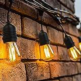 OxyLED Guirlande Lumineuse,15 Mètre 15 LED Ampoules Guirlande Lumineuse...
