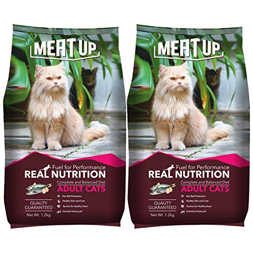 Meat Up Cat Adult, 1.2 Kg (Buy 1 Get 1 Free )