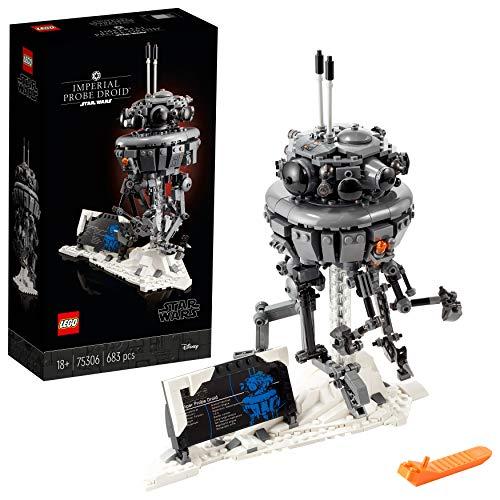 LEGO 75306 Star Wars Imperialer Suchdroide Bauset für Erwachsene, Geschenk zum Vatertag