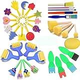éponges de peinture pour enfants, Early Learning enfants Art & craft 34...