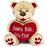 Valentines Bear - 8 Inches Tall - Funny for Girlfriend, Boyfriend,...