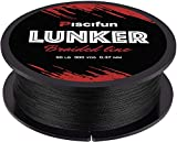 Piscifun Lunker Braided Fishing Line Multifilament 300yards 547yards - Improved Braided Line -...