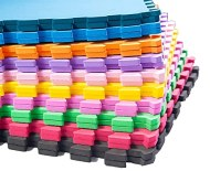 Kit 20 placas tapete de eva tatame 50x50-10mm colorido