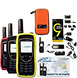 SatPhoneStore Iridium 9575 Extreme Satellite Phone Standard Package with Tough Case, 3 Protective Cases and Blank Prepaid SIM Card Ready for Easy Online Activation